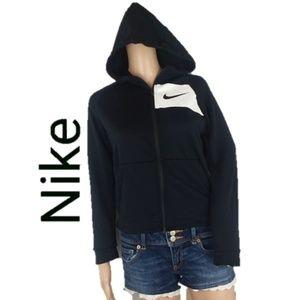 Nike Dri-Fit Full Zip Black Hoodie Jacket